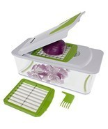 KT-406 7-in-1 Onion Chopper, Vegetable Slicer, Fruit and Cheese Cutter C... - €20,39 EUR