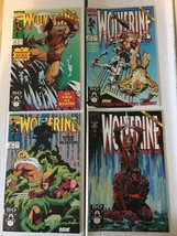 Wolverine #43 44 45 46 Marvel Comic Lot 4 1991 VF+/NM Condition X-MEN - $8.99