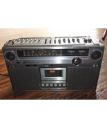 JVC  RC-828jw Vintage Boombox-powers on -as is for parts / fix / restore... - $125.55