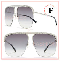 GIVENCHY 7174 Palladium Silver Metal Crystal Flat Unisex GV7174s Sunglasses - $346.50