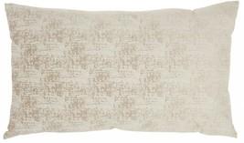 Beige Distressed Gradient Lumbar Pillow - $38.70