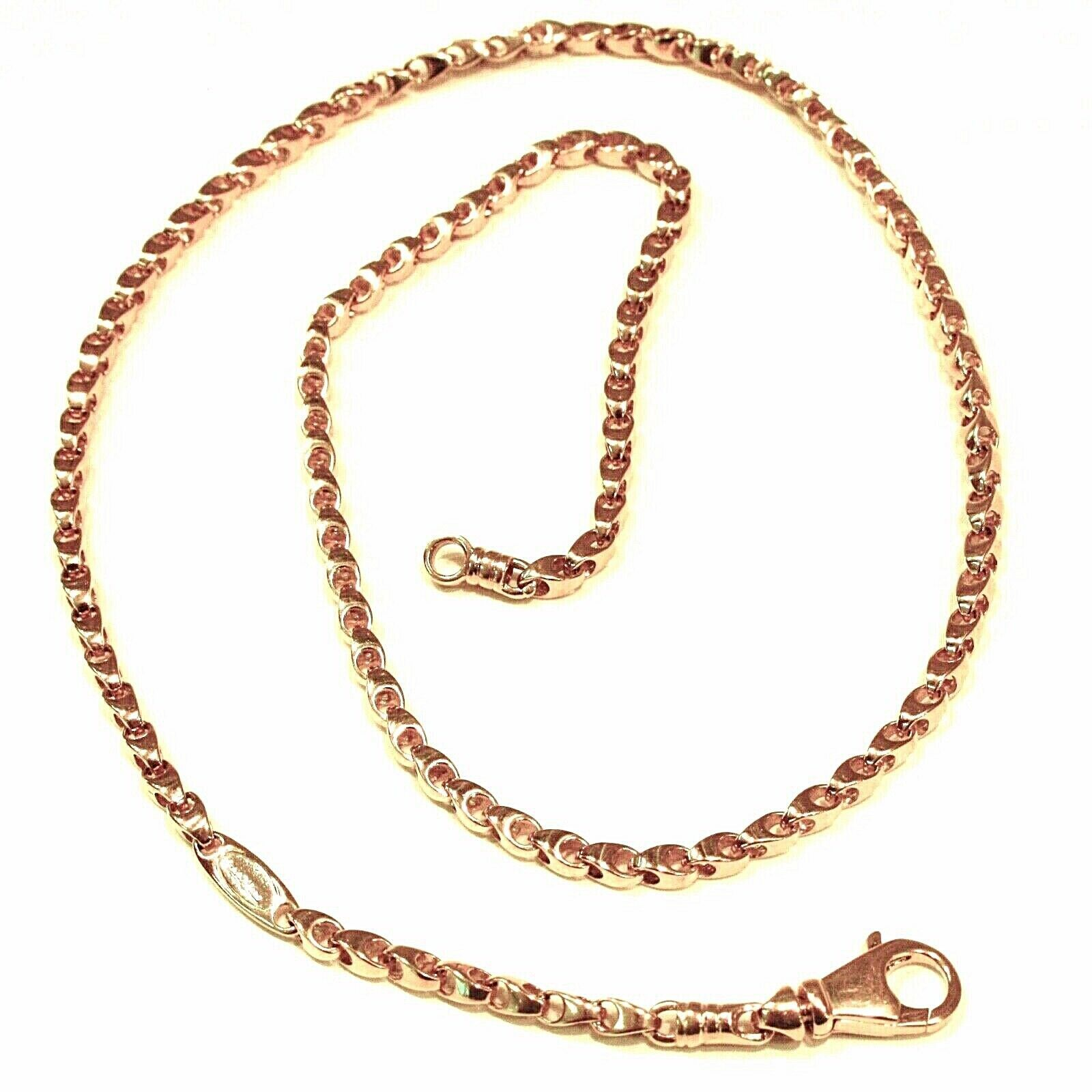 SOLID 18K YELLOW GOLD CHAIN, 24 INCHES, 3 MM DROP TUBE LINK, POLISHED NECKLACE