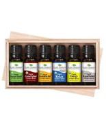 Plant Therapy Top 6 Organic Synergies Set | Essential Oil Blends for Sle... - $58.36