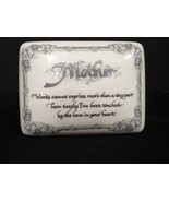 "AUDREY JEANNE'S Expressions "" Mother "" Porcelain Trinket Box  - $6.49"