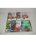 Lot of 8 Better Homes And Gardens Magazines 2015 to 2018 - $15.79