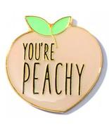 You're Peachy Appreciation Award Lapel Pins, 12 Pins - $34.51