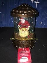 Hallmark 2012 Peeking At Toys Snow Globe Water Globe Lighted And Blowing... - $189.99