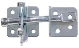 Hillman Hardware Essentials 851375 ZINK Self-Adjusting Automatic Gate Latch - $3.99