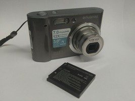 Polaroid m737t 7MP Digital Camera w/ Battery - Tested Working Touchscreen! - $24.99