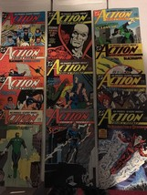Action Comic #619 - 629 Superman DC Comic Book Lot VF Condition 1988 - $13.49