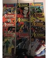 Action Comic #619 - 629 Superman DC Comic Book Lot VF Condition 1988 - $13.49