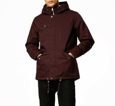 Elvine Mens Sale Deal Cornell Design 173011 Jacket Relaxed Wine Red Size L - $143.59