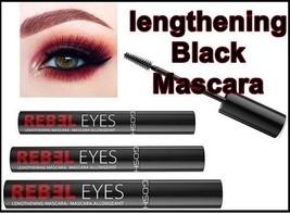 Rebel Eyes Mascara Lengthening  9ml  Black  Visibly Long & Fuller Eyelashes - $12.55