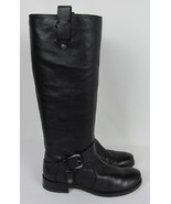 Nine West Takedown knee high boots leather Motorcycle style harness Wome... - $20.74