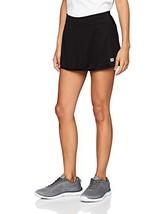 Wilson Falda de tenis, W Team 12.5 Skirt, Poliéster/licra, Negro, Talla:... - $39.11