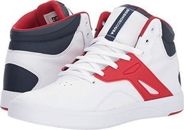 DC Shoes Frequency hi top white navy red - $45.00