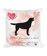 Labrador Retriever Dog Pillow,  Custom Dog Pillow, Personalized Pet Pill... - $40.44