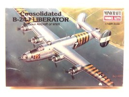 Minicraft 1/144th Scale Consolidated B-24J Liberator Model Kit No. 14402 - $19.99