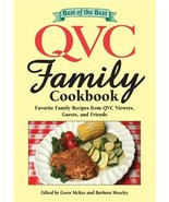 Best of the Best QVC Family Cookbook: Favorite Family Recipes from QVC V... - $7.83
