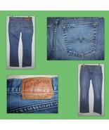 LUCKY BRAND Sweet n Low Boot Cut Lowrise Distressed Blue Denim Jeans Sz ... - $28.70