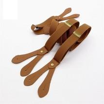 Suspender Strap England Button Strap Wide Clip Vintage Fashion Brace Per... - $13.85