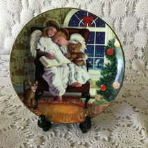 Avon Heavenly Dreams Porcelain Collectors Plate 1997 22 K Gold Trimmed - $11.63