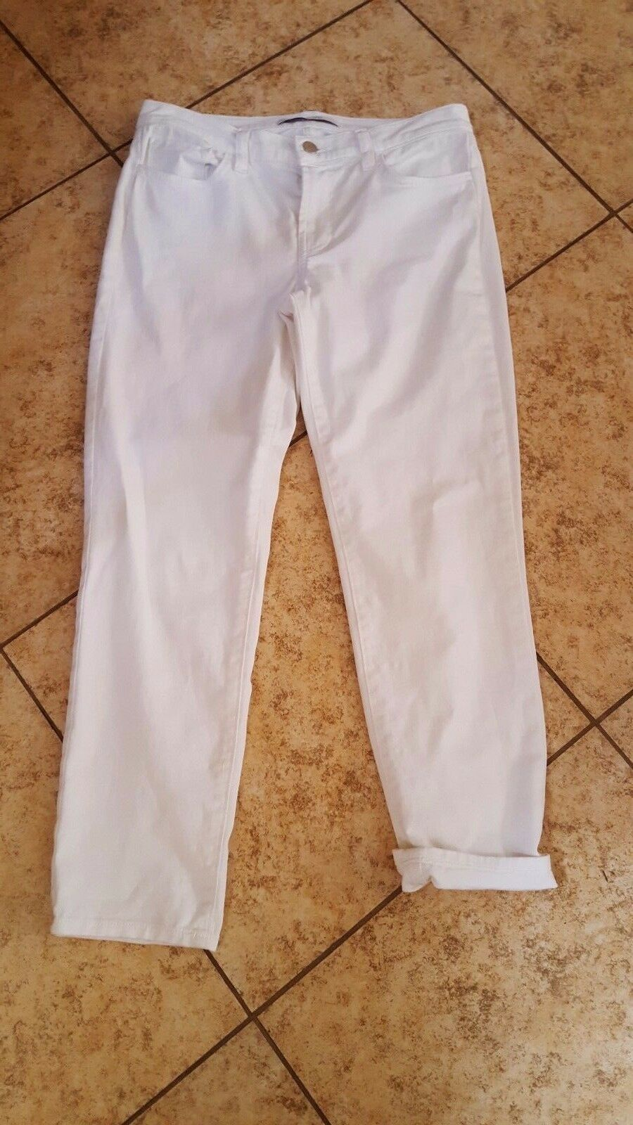 Primary image for  J Brand Jeans Women's Cropped  White Jeans sz 25 Denim  NICE!! #333