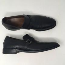 Allen Edmonds Men 10 Aa BEL-AIRE Black Horsebit Nailless Pebble Leather Usa Vtg - $76.99