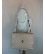 NWT Tory Burch Pink Moon Kira Chevron Convertible Shoulder Bag $528 - $522.72