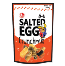 Salted Egg Crunch Mix 4.52oz With Flavor Potato Chips & Fish Skin EXPRES... - $24.30