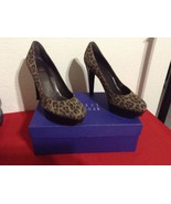 Stuart Weitzman Strongswoon Brown Suede Women's Platform High Heels Pump... - $100.00