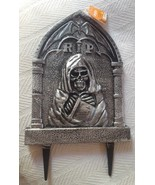 Halloween Creepy RIP Death Angel Graveyard Prop Scary Sign Sturdy Plasti... - $16.69