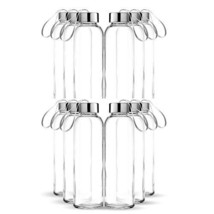 Chef's Star Glass Water Bottle 12 Pack 18oz Bottles for Beverages and Ju... - $949,07 MXN