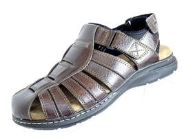 Boca Classics Brown Leather Fisherman  Men's Size US 10M Sandals Shoes - $32.38