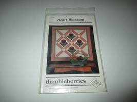Thimbleberries wall and bed quilt patterns birds and bloom heart blossom  - $5.00