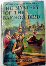 Dana Girls #22 Mystery of the Bamboo Bird 1st Print hcdj Nancy Drew auth... - $45.00