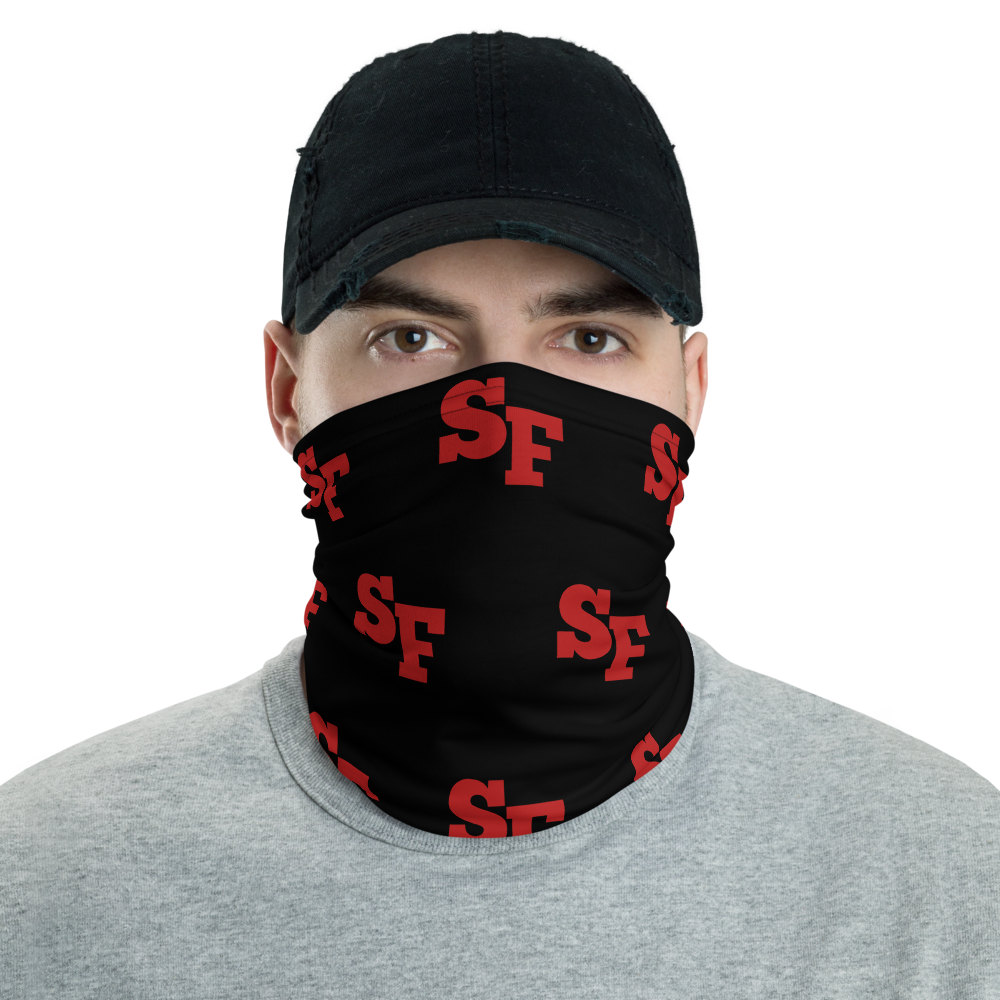 San Francisco / 49ers face cover / 49ers Neck Gaiter