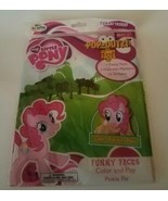 My Little Pony Pop-Outz Funny Faces Color and Play PINKIE PIE New - $6.92