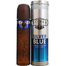 Cuba Silver Blue By Cuba Edt Spray 3.3 Oz - $40.00