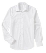 Men's Classic Fit Long Sleeve Button Down White Lightweight Dress Shirt -  XL