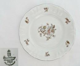 Winterling Empress Platinum Bread & Butter Plate - $12.86