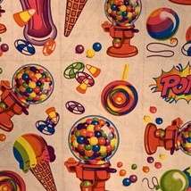 Rare HTF Vintage Lisa Frank Sticker Sheet S158 Bubblegum Machine Candy Pop! image 2