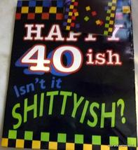 Adult Gift Bags HAPPY BIRTHDAY 40ish BAG ONE BAG - $9.20 CAD