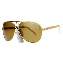 Polarized Lens Aviator Sunglasses Unisex Flat Top Round Fashion Aviators - $12.95