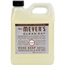 Meyers Lavender Liquid Hand Soap Refill contains Olive oil and Aloe Vera... - $19.66