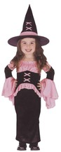 Toddller 3T-4T Pretty Pink Witch Costume by Fun World/NWT - $19.75