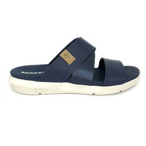 Timberland Women's Wilesport Navy Slip On Sandals A1XPH image 2