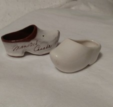 Vintage Two Porcelain Dutch Style Shoes Nic-Naks - $4.95