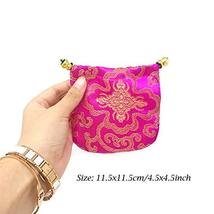 Honbay 16PCS Silk Brocade Drawstring Jewelry Pouches Coin Purses Gift Bags image 2