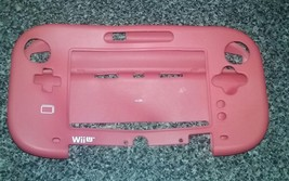 Red Soft Silicone Case Cover Skin for Nintendo Wii U GamePad Controller - $9.49